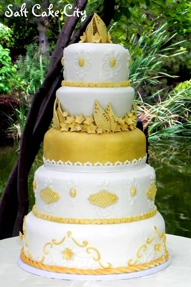 Salt Cake City: Princess Jasmine\'s Wedding Cake