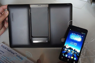 Asus Padfone Infinity smartphone tablet Android