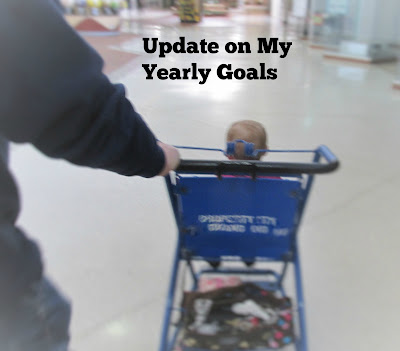Update on My Yearly Goals