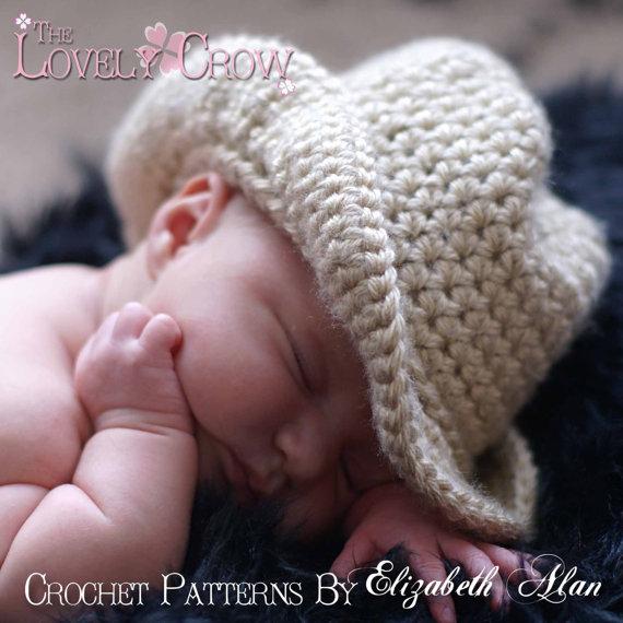 Sombrero CowBoy.TIENDAS - Patrones Crochet