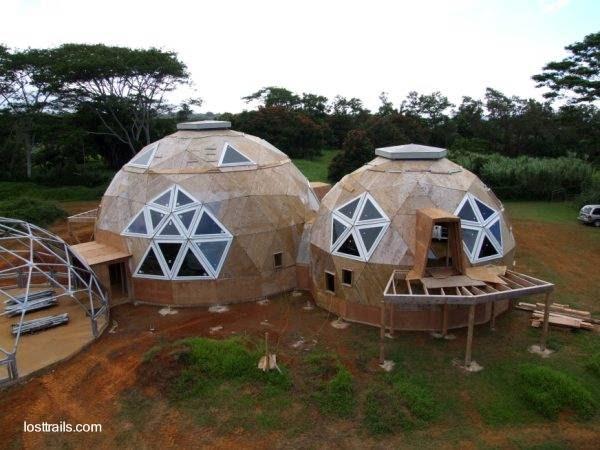 Amernat vivienda domo - Casas geodesicas ...
