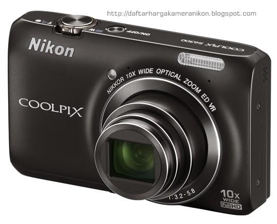 Harga dan Spesifikasi Kamera Nikon Coolpix S6300 Terbaru