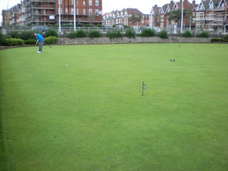 Kirkley Cliff Mini Golf Putting Green in Lowestoft, Suffolk