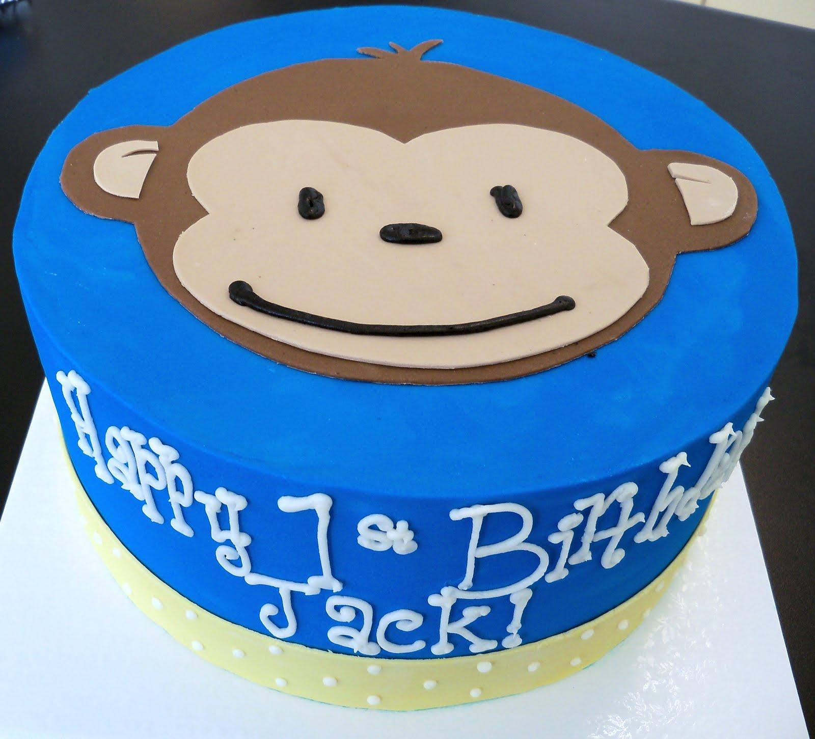 Monkey Face Cake Ideas