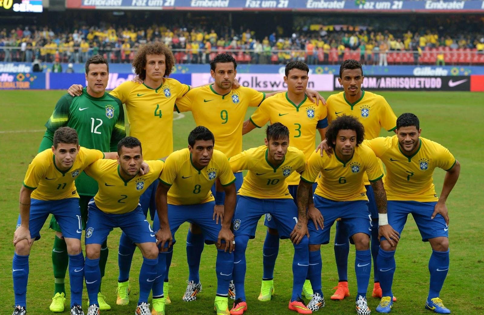 O ano da Seleção Brasileira pode ser facilmente dividido em antes e depois  da Copa do Mundo 91c620975e690