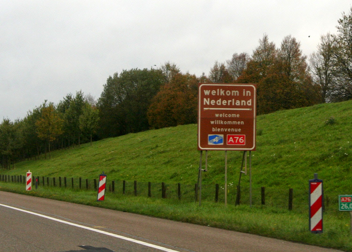 Proof of us entering The Netherlands