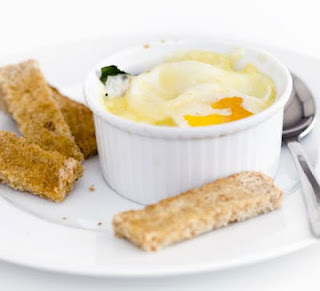 Baked Dippy Eggs Recipe