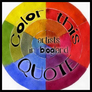 color this quote