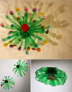 10 Ideas de Decoración para Navidad con Botellas de Plastico, II Parte