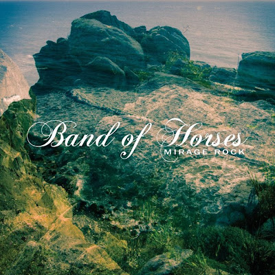 Band of Horses Mirage Rock artwork 2012