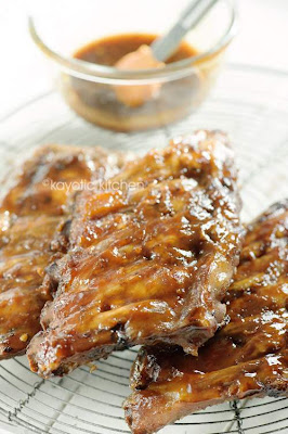 Slow Cooked Apricot Ribs from Kayotic Kitchen