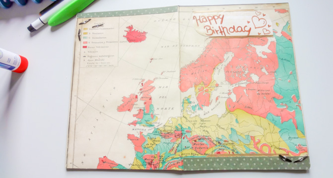 DIY Geburtstagskarte