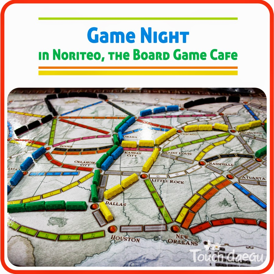 Noriteo, the board game cafe in Daegu