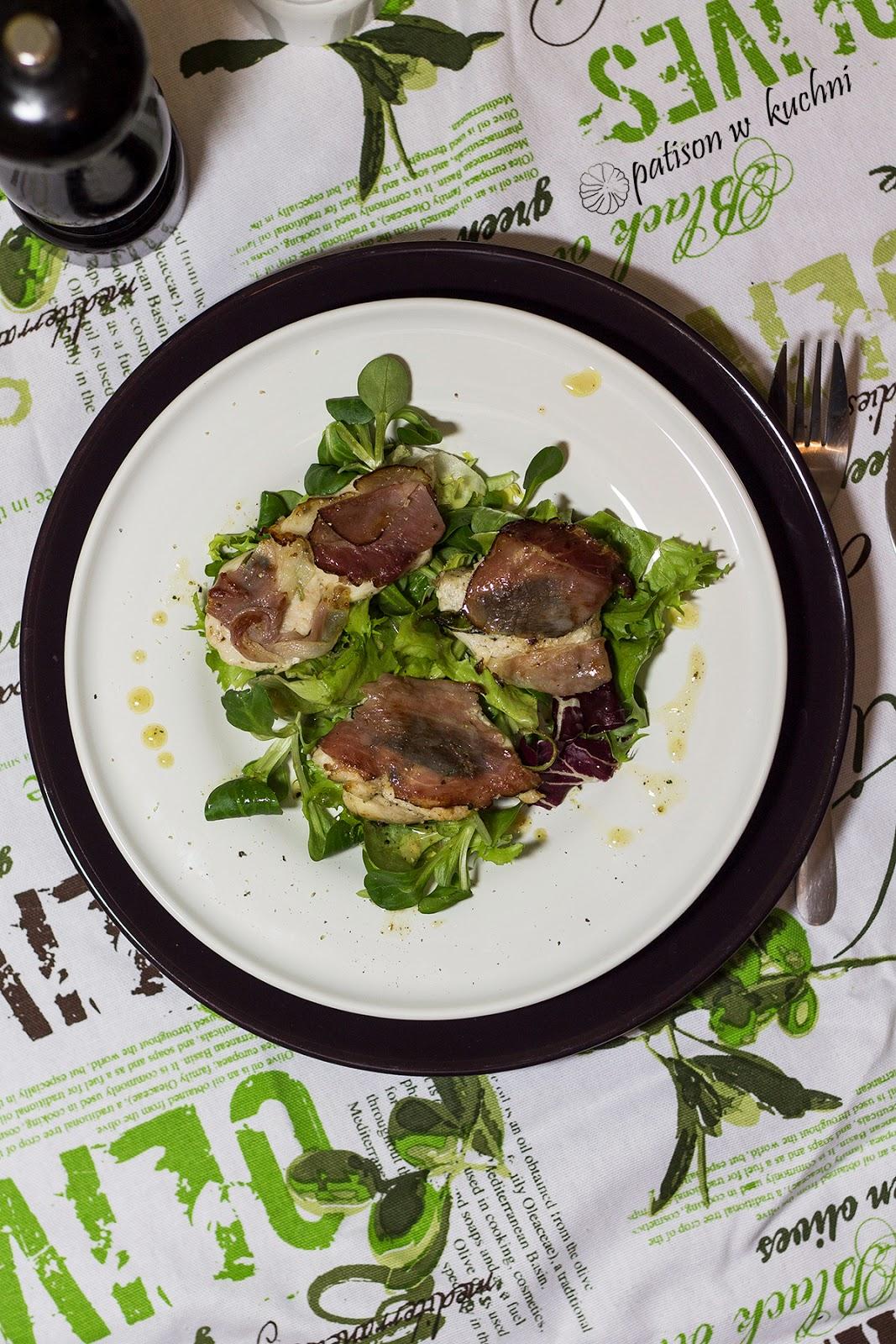 Saltimbocca z kurczaka.