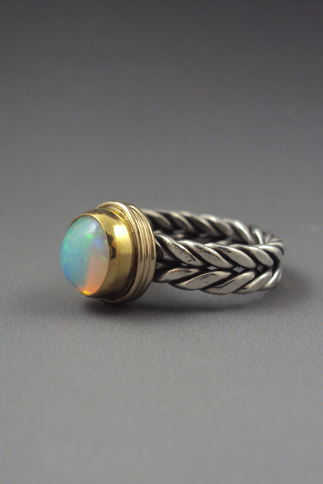 Dana Evans Studio Blog: Twisting Wire Shanks