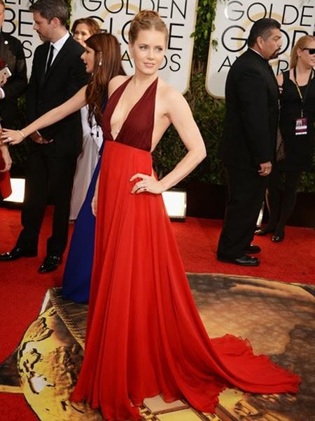 Ейми Адамс рокля Златен глобус 2014
