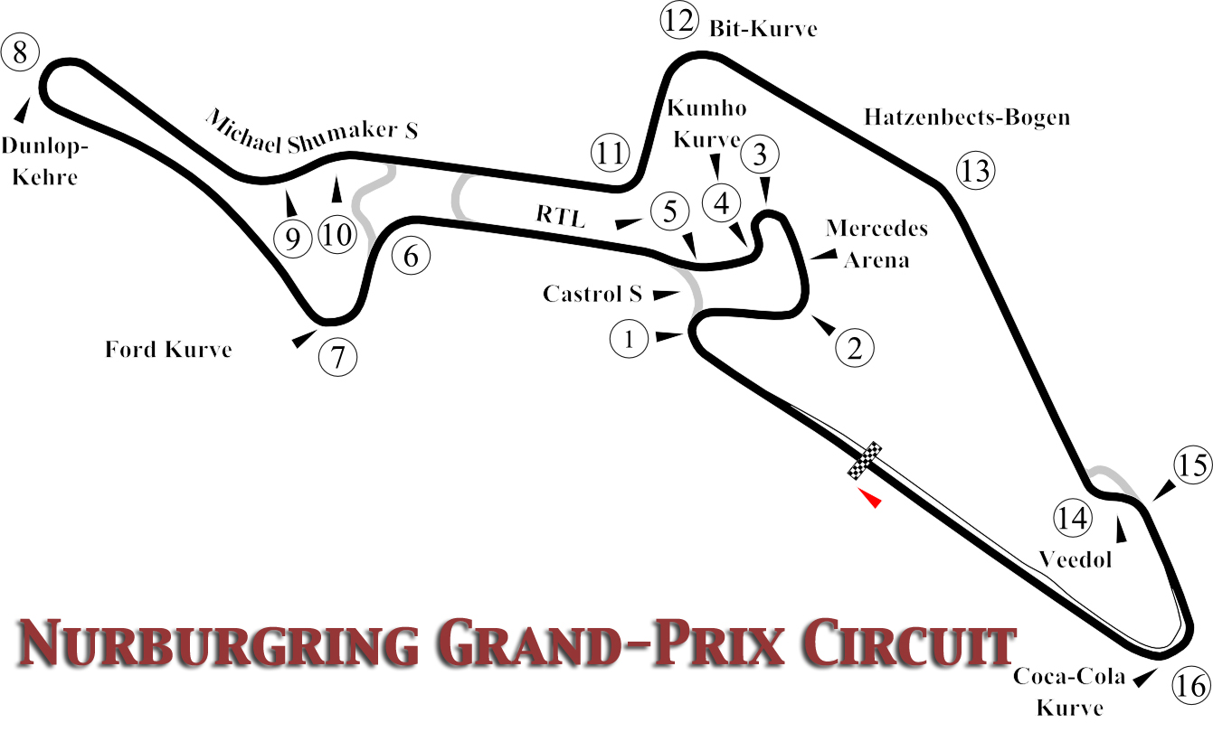 #2/6 Nürburgring GP - Bmw M6 Gt3 - División 1 - I LEC Nurburgring-grand-prix-circuit-oxcgn