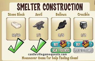 castleville smelter guide