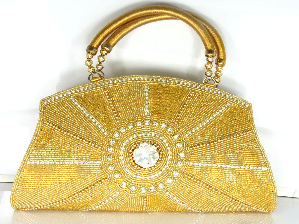 a13bd6bef2 Distributor Wholesaler and Exporter of Ladies Handbags Fancy Evening ...