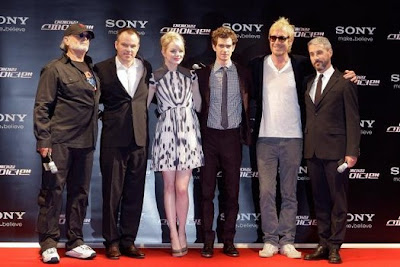The amazing spiderman cast