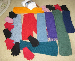 knitting for homeless