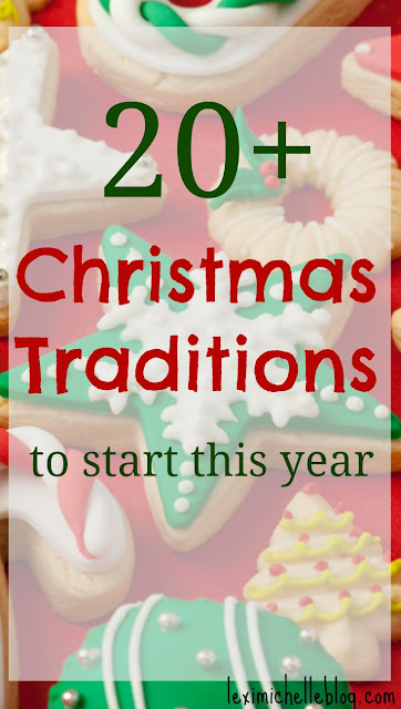 Tons of great Christmas traditions for families! Especially the one for when you get the tree! So stress-free!