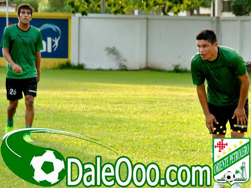 Oriente Petrolero - Ricky Añez - Jorge Ortiz - DaleOoo.com página del Club Oriente Petrolero