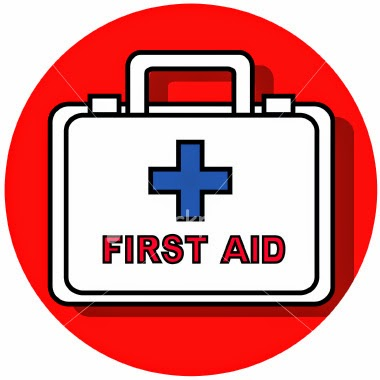 "First Aid ""Learning First-aid is a civic responsibility of each and every person"" May be defined as ""on the spot"" and immediate help or aid to help any fellow being in physical distress or serious disease, which may be life threatening. Aims of First Aid: • To preserve life  • To promote recovery  • To prevent any complication General Rules of First Aid  • Restore breathing  • Restore heart beat if stopped  • Arrest bleeding  • Prevent shock  • But do not do or attempt anything in which you have no expertise. Do no harm! FIRST - AID FOR ASPHYXIA / CHOKING / SUFFOCATION  (E.g. Fire accidents, victims trapped in smoke, building collapse, choking by food or something swallowed)  • DON'T be Panicky & run helter shelter.  • DON'T rush out through same exits - use emergency exits.  • DON'T be too selfish, be helpful to other victims.  • Once out of danger area/site of accident move victims to safer and open place.  • Try to clean soot from nostrils with any clean cloth, preferably wet.  • If victim is dazed or unconscious - remove or loosen constricting dress or ornaments on neck and chest.  • If victim is not breathing, give mouth to mouth breathing.  • Evacuate all serious victims to nearby clinic or Hospital.  • Learn Heimlich manoeuvre in case of choking while swallowing.   FIRST - AID FOR ELECTROCUTION / ELECTRIC SHOCK / ELECTRIC BURNS Prevention  • Check electrical wirings at intervals at home  • Inform electricity department if you see any loose connection, detached wires on road side.  • Don't walk blindly at night in rainy season.  • Keep electrical goods and plug points out of reach of children. In case of electrical shock / burn  • Push the victim off the contact, protecting yourself, using proper insulation. Stand on a bundle of newspaper.  • Switch off the mains and use a wooden pole to push victim  • Check if victim is breathing and check pulse (heartbeat)  • Cardiopulmonary resuscitation (CPR) if necessary.  • In case of electrical burn, treat and give first aid as in burn or fire accident.   FOOD POISONING generally occurs due to consuming contaminated water or food. It is fairly common in places where mass cooking takes place. Food handlers like cooks & servers are the main culprits. It can also occur at home. To prevent food poisoning: • Cook food items, especially meat, properly & well.  • Do not allow diseased individuals inside the kitchen.  • Do not purchase food items from unauthorised and unhygienic shops.  • Don't consume any food items beyond the expiry date.  • Keep kitchen / place for cooking clean and free from lizards and flies.  • Ensure proper hygienic measures by all food handlers - like trimming finger nails, disease free fingernails, washing hands with soap and water after toilet, before handling any food items.  • Avoid eating or drinking juices etc. on roadside, where flies are likely to contaminate. In case of food poisoning: • Identify the culprit food item.  • Seek medical advice for all those affected.  • Educate victims and public how to safeguard one self.    CHEMICAL POISONING  (Accidental or suicidal) • Do not keep poisonous chemicals within reach of children; keep them under lock.  • In case of suspected poisoning, induce vomiting by putting finger into mouth and throat or by giving salted water.  • Keep the victim flat, head turned to one side when vomiting.  • Keep sample of vomits for analysis.  • Remove soiled clothes & wash out any stains over the body.  • Seek expert medical aid as soon as possible.   ROAD ACCIDENTS to avoid road accidents • Don't drive too fast.  • Obey traffic rules and give proper signals while driving.  • Anyone suffering from fits or under the effect of sedatives, alcohol etc - not to drive a vehicle.  In case of any accident • Carefully extricate victim from vehicle.  • Do not handle wounded (fractured) limb unnecessarily.  • See if victim is breathing and check pulse.  • Clean and remove any loose material inside mouth and throat to clear airway.  • Keep victim in lying position and in safe place.  • Control bleeding by application of pressure with folded clean cloth.  • While shifting, shift in one piece to prevent dislocation or aggravation of spine injury.  • Loosen or cut garments or ornaments causing pressure on neck, chest or abdomen.  • Seek expert medical advice at the earliest to transport and treat the victim.    EPILEPSY OR FITS every time a person goes into fits, it is injurious to his health and can produce complications. To prevent an epileptic from throwing fits: • He should take prescribed preventive drugs regularly and as long as advised by his doctor.  • Epileptic should not be allowed access to fire in kitchen, swimming pool, moving machinery or car driving.  • Not to go or work at heights, unattended.  In case of fits: • Turn head to one side in lying position, to allow saliva to come out.  • Clear airway as in any unconscious patient.  • Elevate lower jaw and press on chin to keep mouth open and avoid biting tongue.  • Keeping any blunt object or folded kerchief between teeth to prevent biting tongue to be done cautiously, since pushing there too far into throat will cause obstruction to airway.  • Arrange to seek medical attention.     UNCONSCIOUS / COLLAPSED PATIENT If a person has collapsed or fallen down or found unconscious, it may be due to several diseases. The first aider should do no harm; he should ensure that victims breathing & heartbeat is restored and try and prevent any further harm to the victim. • Turn head to one side to allow vomits or saliva to come out.  • Clear airway and mouth if obstructed.  • Check for breathing and heartbeat / pulse and feel for pulse (carotid pulse) in the neck. If one or both are absent institute cardiopulmonary resuscitation. (cardiac massage and mouth to mouth breathing - ""The kiss of life"")  • Do not give any oral feeds to an unconscious patient.  • Keep the victim warm - don't leave him unattended.  • Arrange to get medical attention at the earliest.    DROWNING  Don't jump into water or indulge in water sports without knowing swimming. Epileptics to avoid swimming. In case of drowning, after the victim is brought ashore do the following:  • Turn victim face down with head turned to one side and arms stretched above the head. Children can be held upside down.  • Raise belly of victim to drain water from the lungs.  • Remove wet cloth and keep body warm.  • If victims is conscious hot drinks may be given.  • Transfer to nearby hospital at the earliest.    BURNS AND SCALDS  Following common situations in our daily life predispose to burn accident. Avoid them.  • Use of pressure stove.  • Nylon and other inflammable dress in the kitchen.  • Use of open flame bed-lamp.  • Not taking proper precautions while using cooking gas.  • Floor level cooking.  • Children and epileptics in kitchen, without supervision.  • Firing crackers inside the house.  • Smoking in bed.  • Not taking proper precautions while using electrical appliances.  • Storing inflammable materials like petrol in the house.  FIRST-AID FOR BURNS following common situations in our daily life predispose to burn accident. Avoid them.  • Victim of fire accident should lie on floor and roll slowly.  • Put out flame by covering with thick blanket.  • Pour water or even mud or sand (in an open place) to put out the fire.  • Use ice cold water or compresses- start early and continue for 15-20 minutes.  • Wash hands and remove tight rings and bangles and loosen dress.  • Don't apply any local medication till a qualified Doctor sees.  • Cover the burn victim with clean or freshly laundered cloth.  • For chemical burn, bathe the affected area with plenty of water - victim to have a good shower. Loosen and remove dress soaked in chemical.  • For electrical burns, switch off the mains before attending to the victim or take due precautions against getting a shock oneself.  • Seek medical help as early as possible.  CARDIOPULMONARY RESUSCITATION FOR YOURSELF  CPR (Cardiopulmonary Resuscitation) For Yourself: What To Do If You Have a Heart Attack While You Are Alone. The Johnson City Medical Centre (USA) staff actually discovered this, and did an in-depth study on it in our ICU. The two individuals that discovered this then did an article on it, had it published, and even had it incorporated into ACLS and CPR classes. It has worked, and does work. It is called ""Cough CPR"".  A cardiologist says it's the truth. Read this — it could save your life!  A Typical Scenario:  Let's say it's 6:15 PM and you're driving home — alone of course — after an unusually hard day on the job. You're really tired, upset, and frustrated.  Suddenly you start experiencing severe pain in your chest that starts to radiate out into your arm, and up into your jaw. You are only about five miles from the nearest hospital. Unfortunately you don't know if you'll be able to make it that far.  What can you do? You've been trained in CPR (Cardiopulmonary Resuscitation), but the guy that taught the course didn't tell you what to do if it happened to yourself. First advice: pull to the side of the road, stop your car, and turn the flashing hazard lights on.  How to Survive a Heart Attack When Alone? Since many people are alone when they suffer a heart attack, this article seems to be in the order. Without help, the person whose heart is beating properly, and who begins to feel faint, has only about 10 seconds left before losing consciousness.  However, these victims can help themselves by coughing repeatedly, and very vigorously. A deep breath should be taken before each cough, and the cough must be deep and prolonged, as when producing sputum from deep inside the chest. A breath and a cough must be repeated about every two seconds without let up until help arrives, or until the heart is felt to be beating normally again.  Deep breaths get oxygen into the lungs, and coughing movements squeeze the heart and keep the blood circulating. The squeezing pressure on the heart also helps it regain normal rhythm. In this way, heart attack victims can get to a hospital.    For More details  Please contact   For more details & Consultation Feel free to contact us. Vivekanantha Clinic Consultation Champers at Chennai:- 9786901830  Panruti:- 9443054168  Pondicherry:- 9865212055 (Camp) Mail : consult.ur.dr@gmail.com, homoeokumar@gmail.com   For appointment please Call us or Mail Us  For appointment: SMS your Name -Age – Mobile Number - Problem in Single word - date and day - Place of appointment (Eg: Rajini – 30 - 99xxxxxxx0 – Psoriasis – 21st Oct, Sunday - Chennai ), You will receive Appointment details through SMS        ==--=="