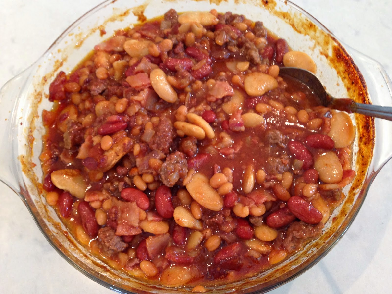 Accounting For All My Blessings: Three-Bean Baked Beans