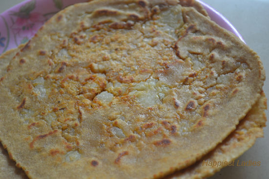 Aloo parota+healthy breakfast