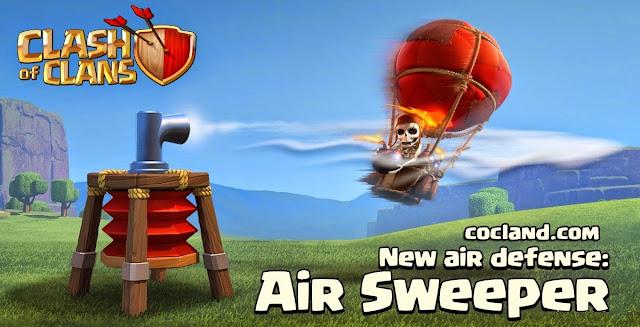 Cara Menggunakan Air Sweeper Pada Game Clash of Clans