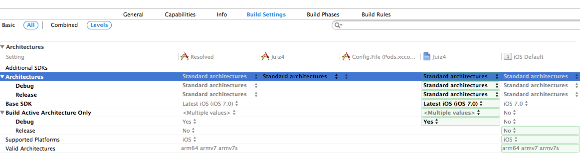 undefined symbols for architecture arm64