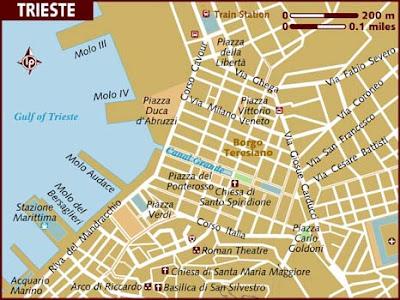 Mappa Regione Trieste