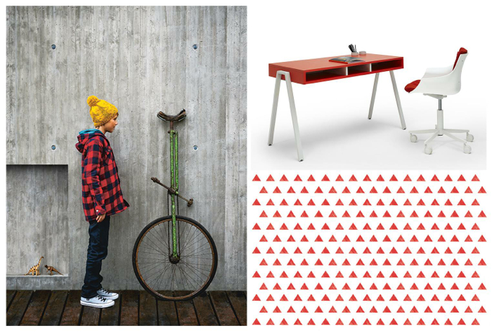 Battistella  - new graphic NIDI furniture for modern kids