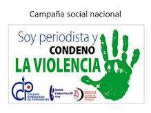 YO SOY PERIODISTA ESTOY EN CONTRA DE LA VIOLENCIA