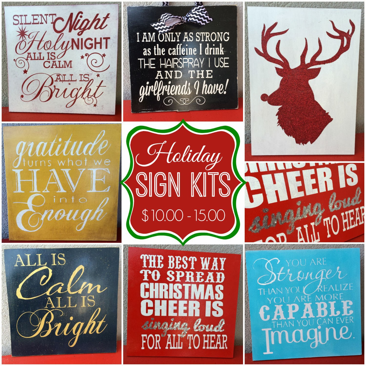 Sign Kits Available