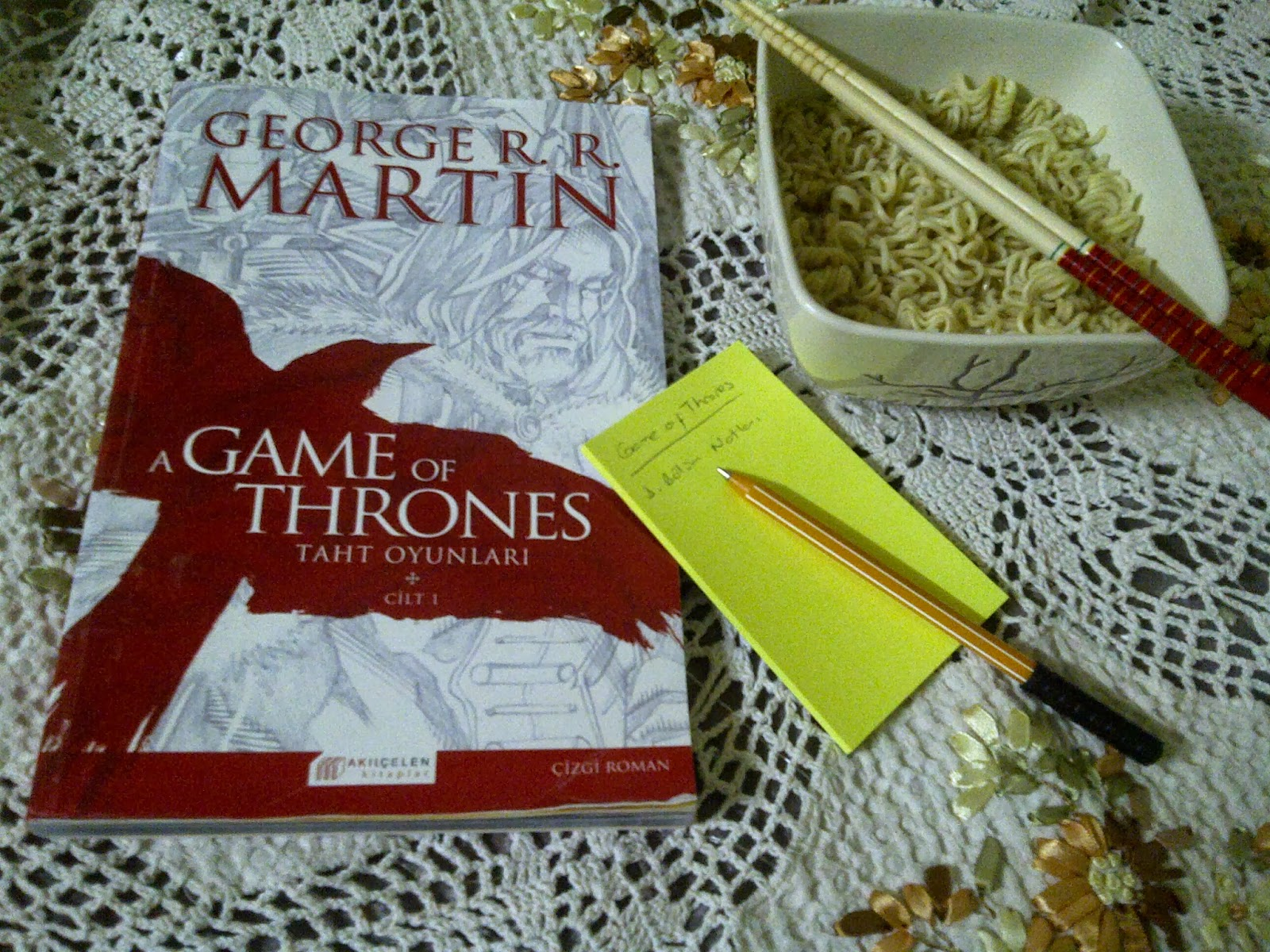 Bir taht yedi aile! a game of thrones