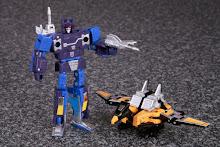 Pre-Order - Takara Tomy Transformers Masterpiece MP-16 Frenzy & Buzzsaw (Reissue)