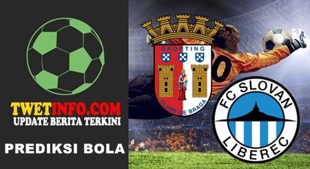 Prediksi Sporting Braga vs Slovan Liberec