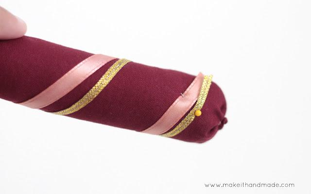 Decorating Dandiya for Raas during Navratri-- Tutorial by Make It Handmade