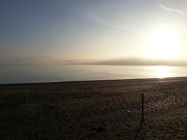 a foggy day a Numana