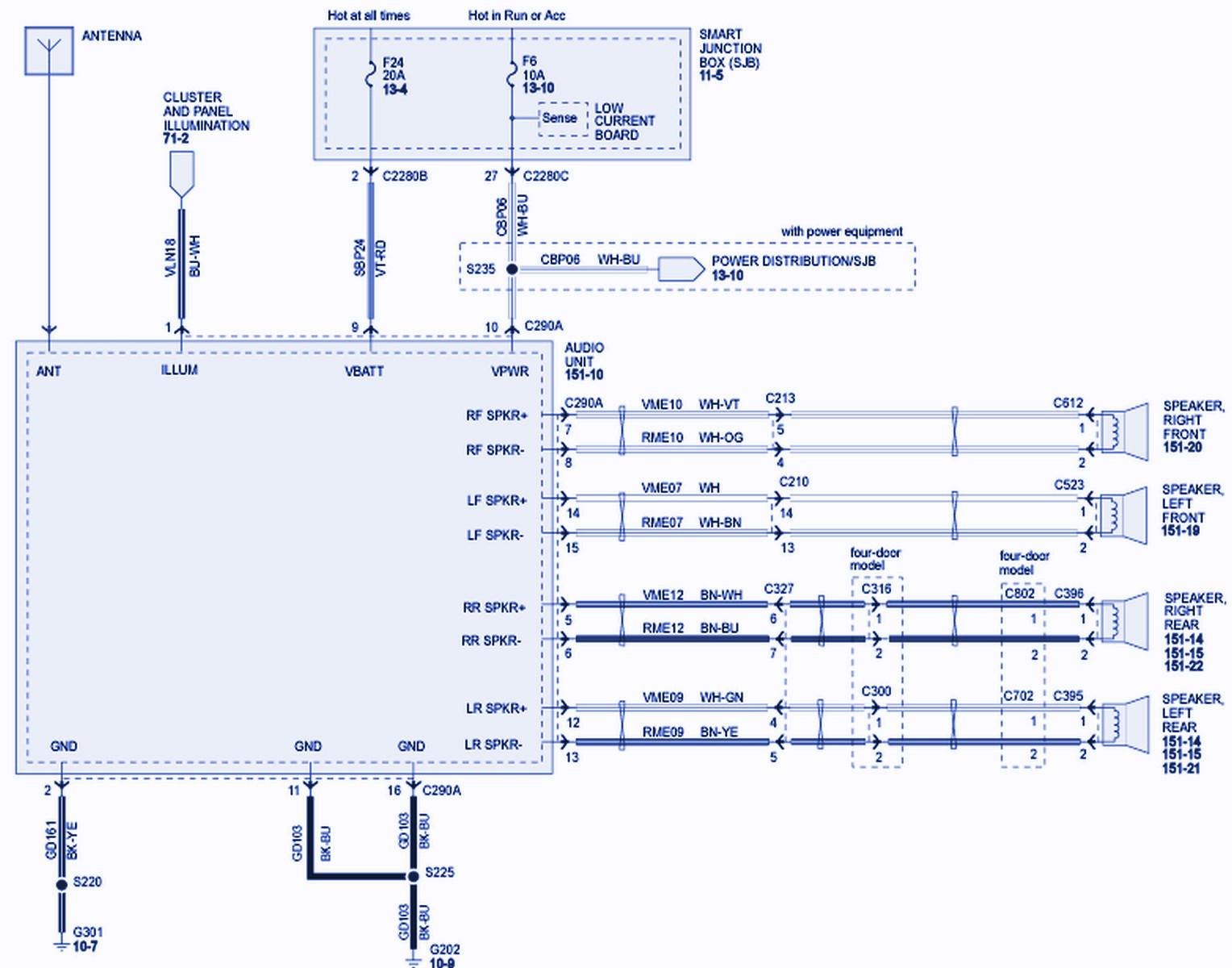 Radio Wiring Harness Diagram For 94 Ranger - Wiring Diagram couple -  couple.fotootticamezzolo.it