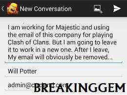 Cara Merubah Email Login Clash of Clans Dengan Mudah