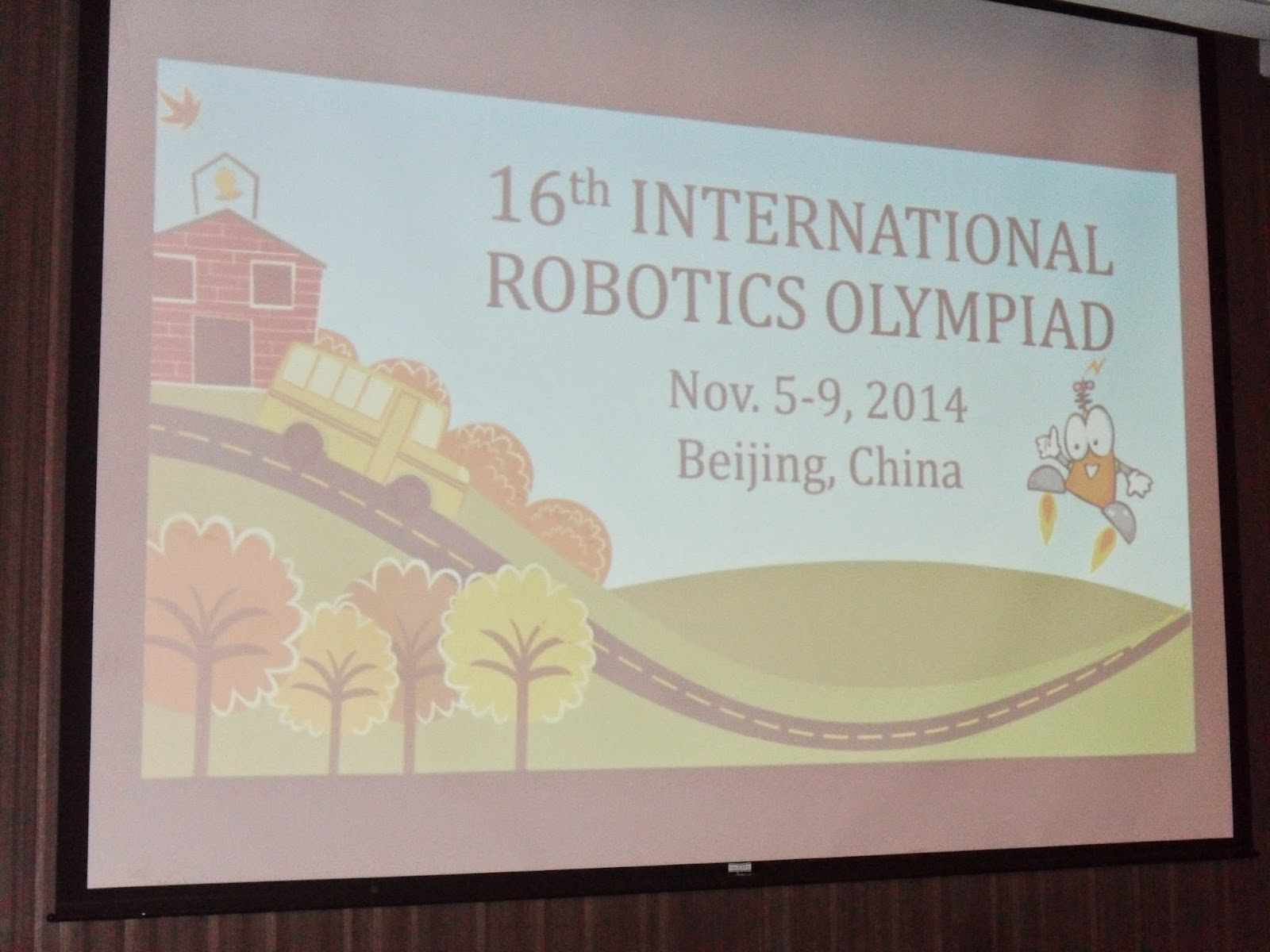 Iluvrizzag International Robot Olympiad Competition Beijing