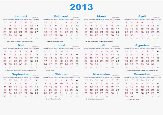 Libur tahun baru 2013
