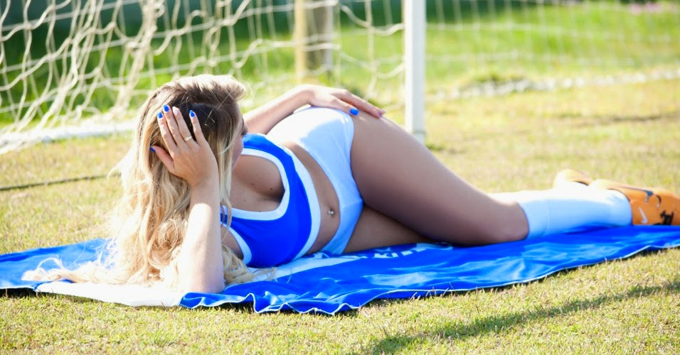 Bela do Cruzeiro Esporte Clube, Kamila Faustino no Belas da Torcida 2014