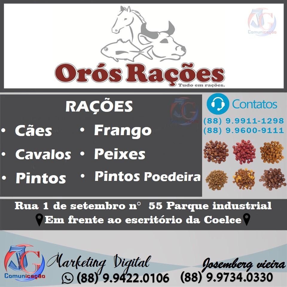 ORÓS RAÇÕES