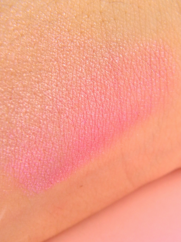 swatch sombra asa de borboleta Koloss pink