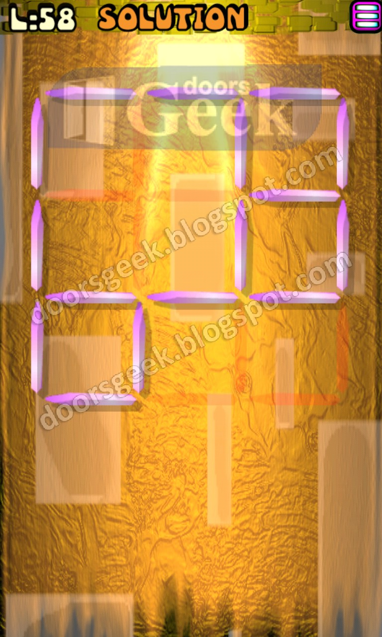 Matches puzzle episode 2 level 58 solution doors geek for 16 door puzzle solution