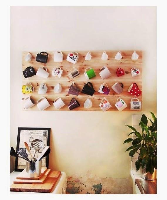 coleção de canecas